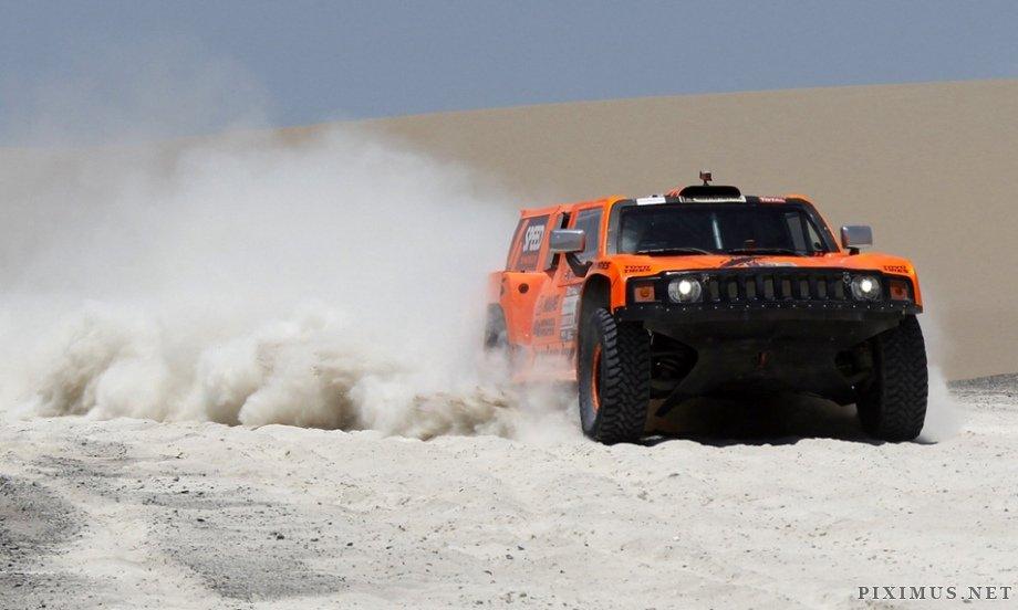 Dakar Rally 2012, part 2