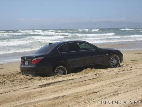 BMW Corpus Christi >> Car stuck on beach | Vehicles