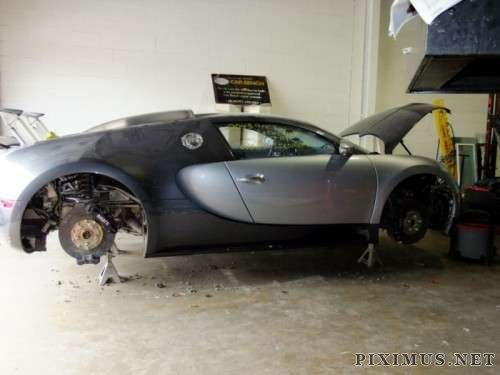Infamous Bugatti Water Wreck Is Going Up For Sale