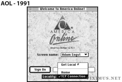 Websites original layout