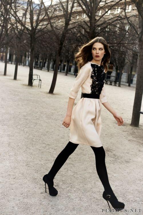 Beautiful women in elegant dress