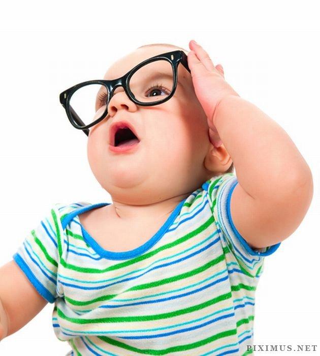 Babies Wearing Glasses