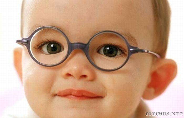 Babies Wearing Glasses
