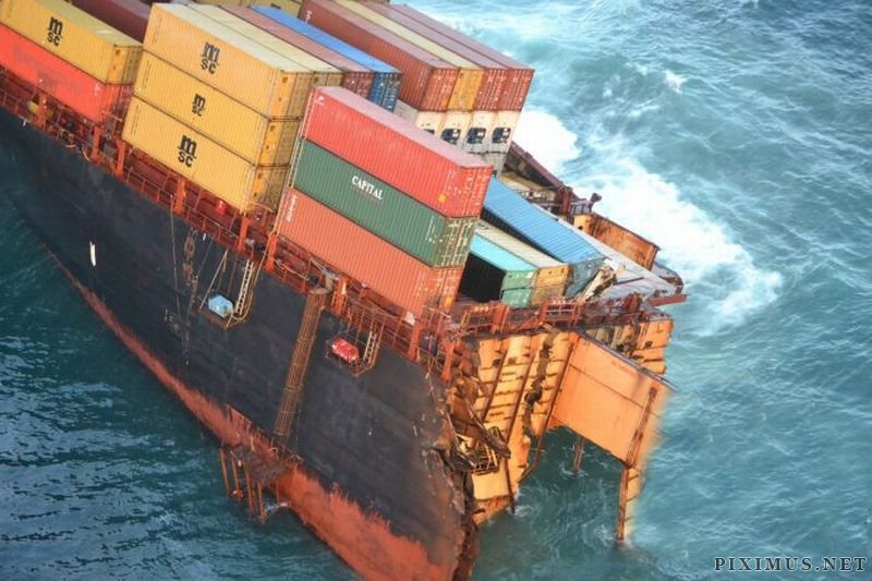 The Miserable Life of Container Ship Rena