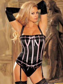 Hot chicks in corset