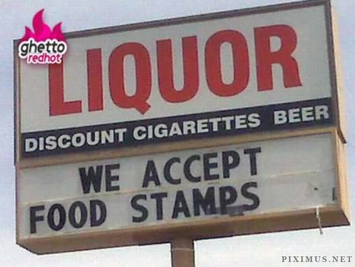 Ghetto Signs