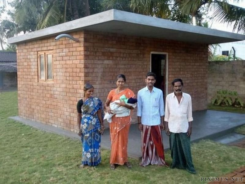 Cheap Houses for Rural Poor