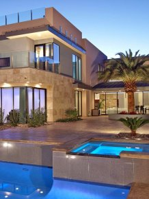 Tenaya Residence for $ 2.5 million in Las Vegas from DesignCell