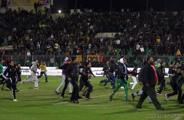 The Egyptian Soccer Riots Have Killed At Least 73 People