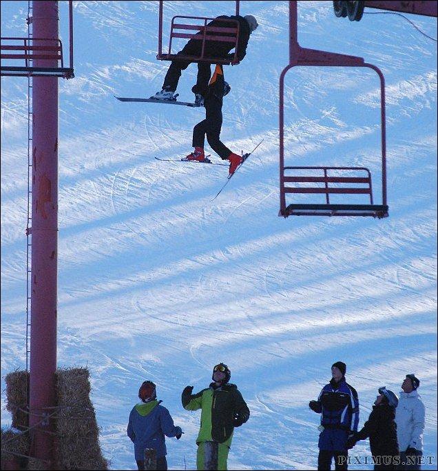 Ski Lift Drama