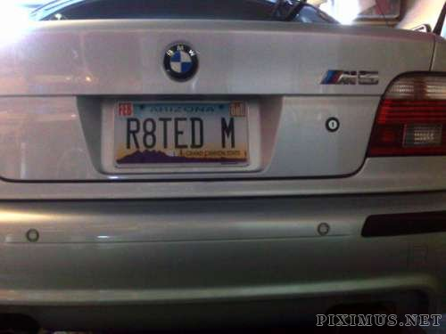 Funny license plates, part 3