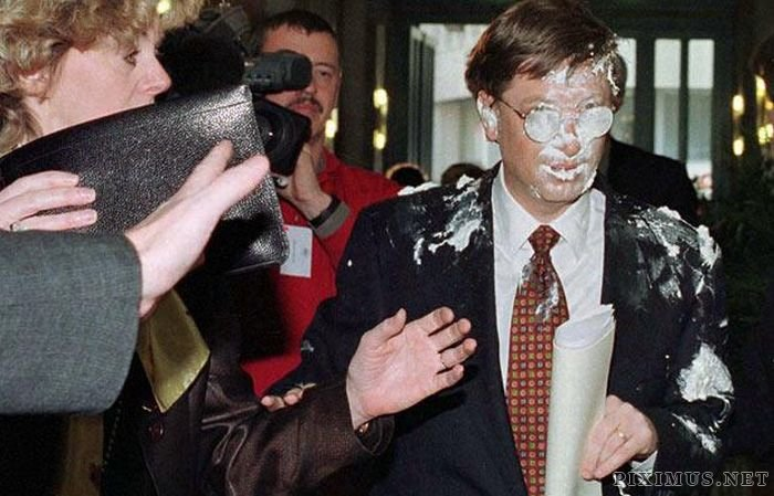 Famous People Being Pelted with Eggs, etc