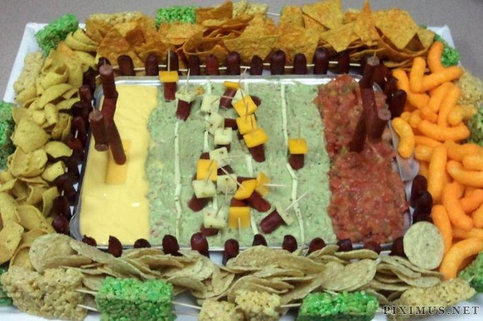 Super Bowl Food Stadiums