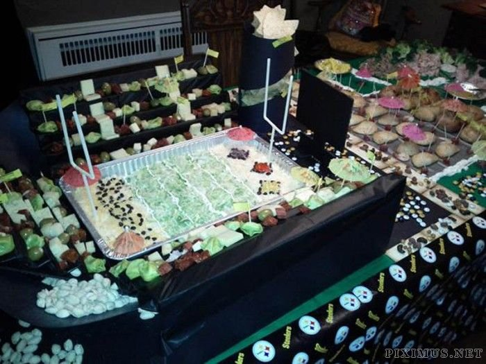 Super Bowl Food Stadiums