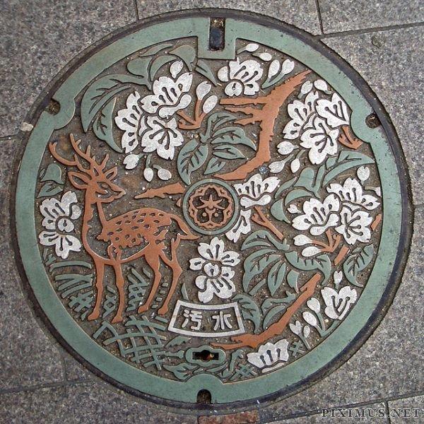 Japanese Manholes Rock!