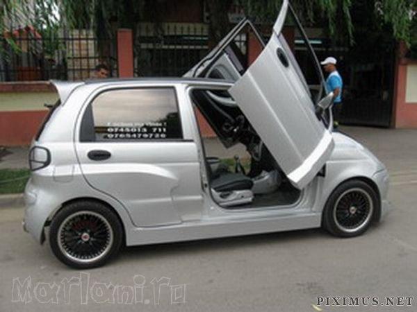 Romanian Tuning of Daewoo Matiz | Vehicles