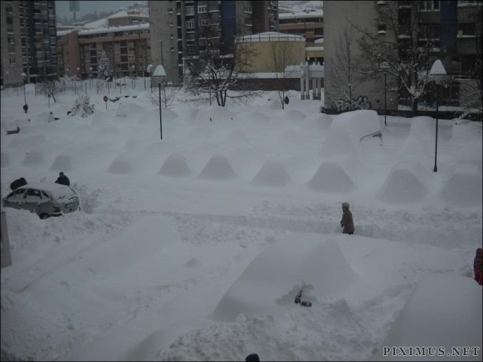Too Much Snow