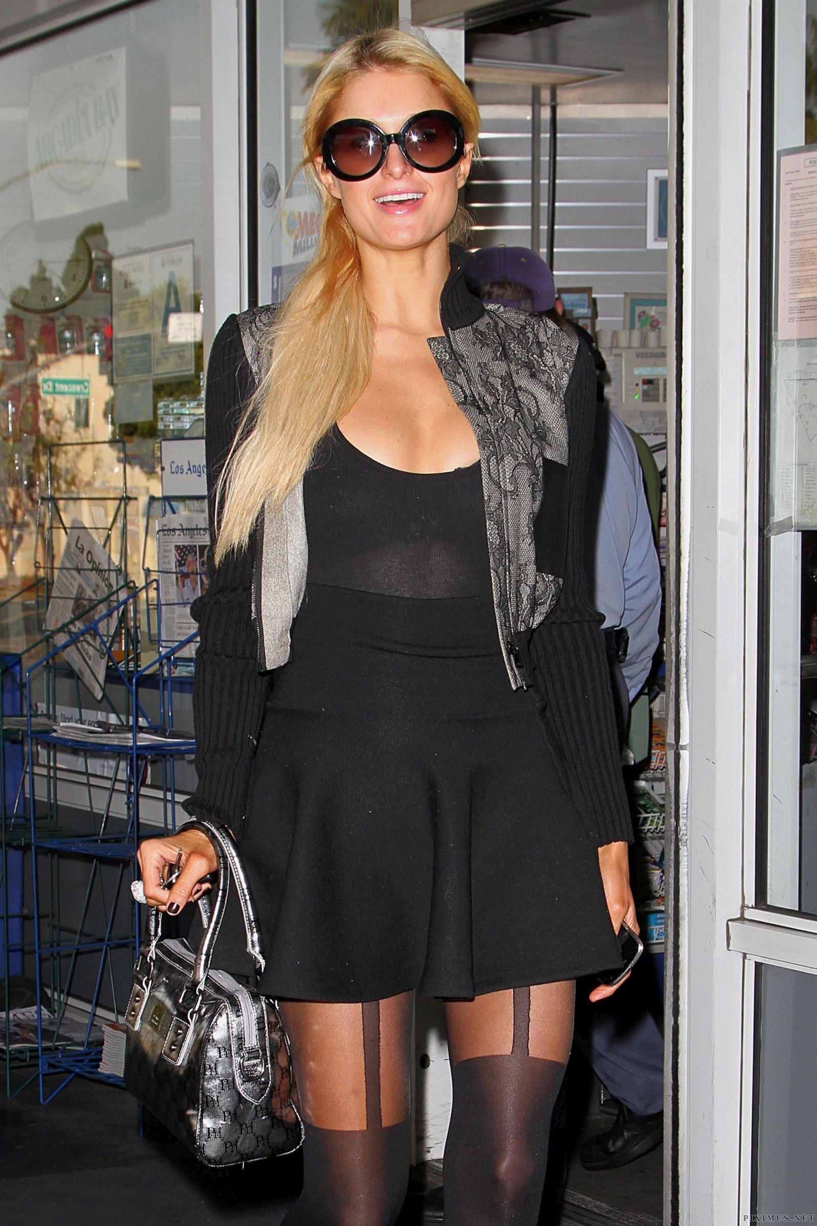 Paris Hilton in Beverly Hills