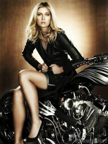 Maria Sharapova Superhot Photoshoot