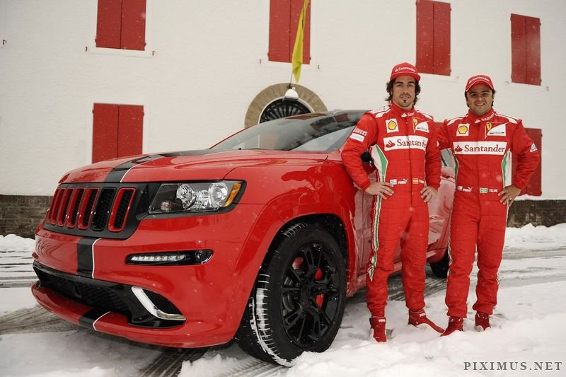 Jeep Grand Cherokee SRT8 for Fernando Alonso and Felipe Massa