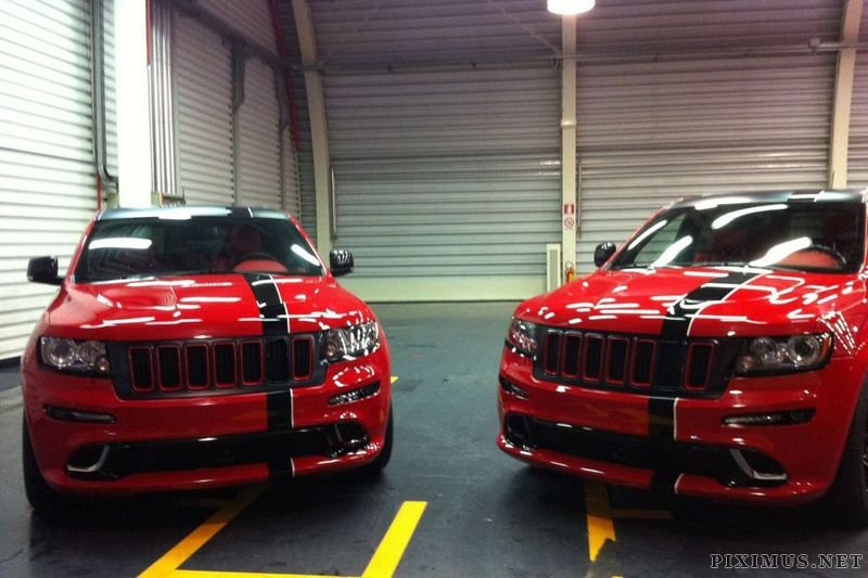 Custom Jeep Grand Cherokee >> Jeep Grand Cherokee SRT8 for Fernando Alonso and Felipe ...
