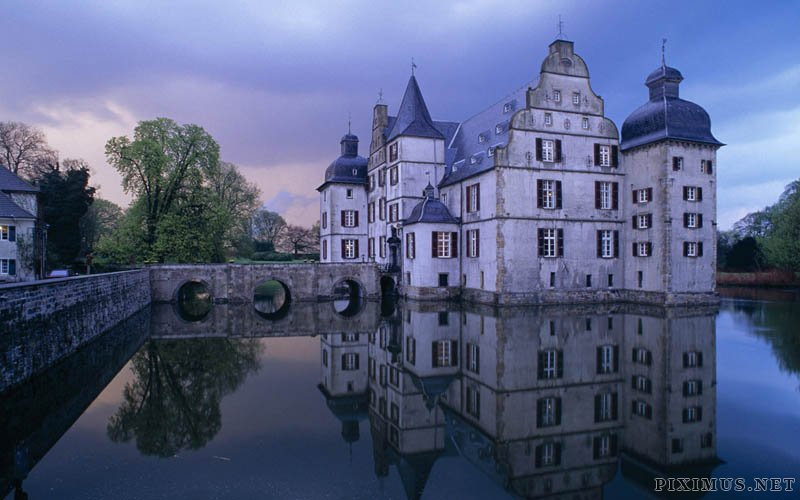 Castles in the water