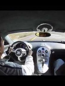 Bugatti Veyron Owner Hits 225mph On a Mexican Highway