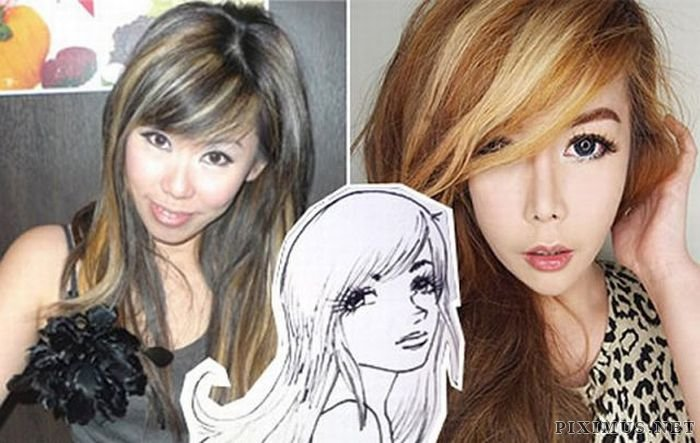 Woman Spends $136,000 to Become Anime Character