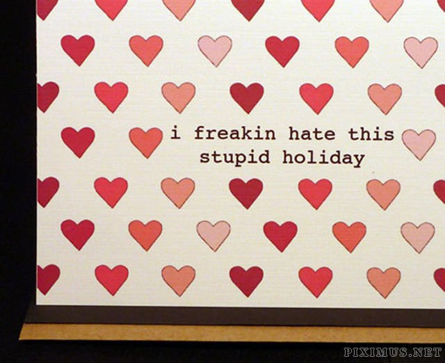Awesome AntiValentines Day Cards – Anti Valentine Day Cards