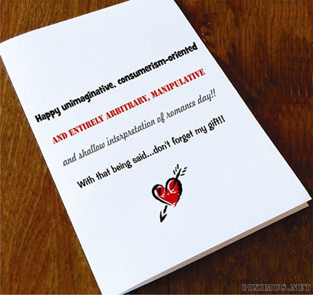 Awesome Anti-Valentine's Day Cards