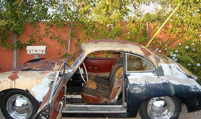 Porsche 356A coupe sold at auction