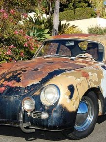 Porsche 356A coupe sold at auction