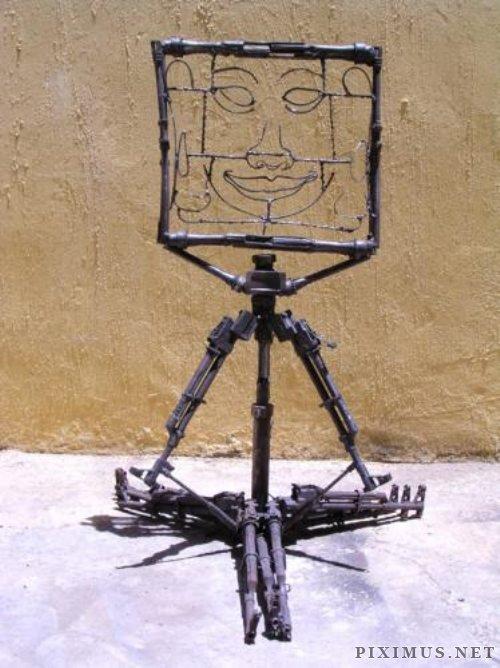 Gun Art Sculptures