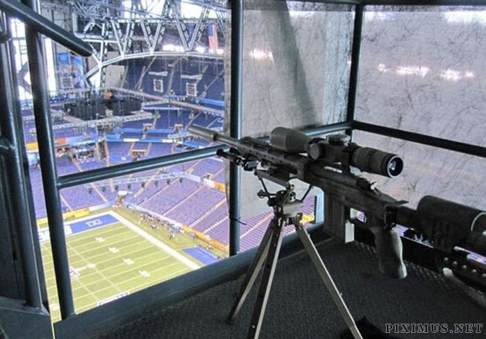 Sniper's Nest at Super Bowl