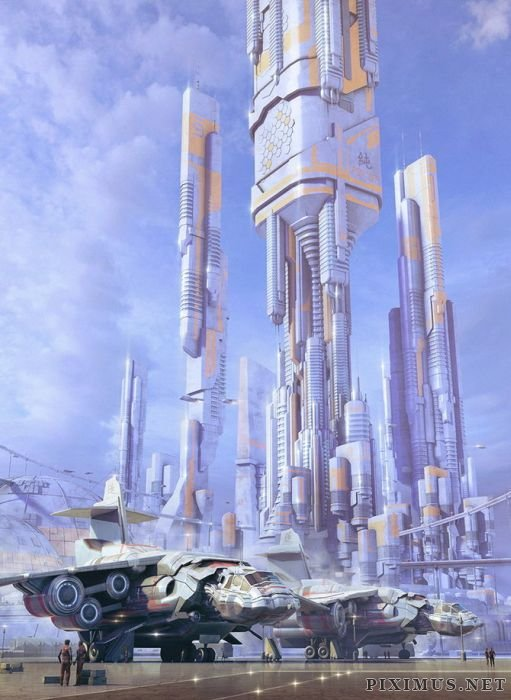 Painted Visions of the Future