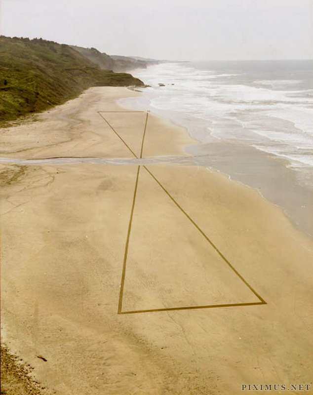 Land art by Jim Denevana
