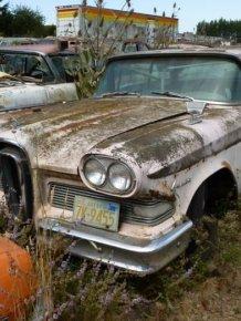 Car Cemetery in Oregon