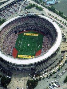 Stadium from bird's eye view