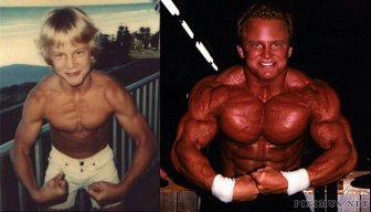 Before and After Muscle Men
