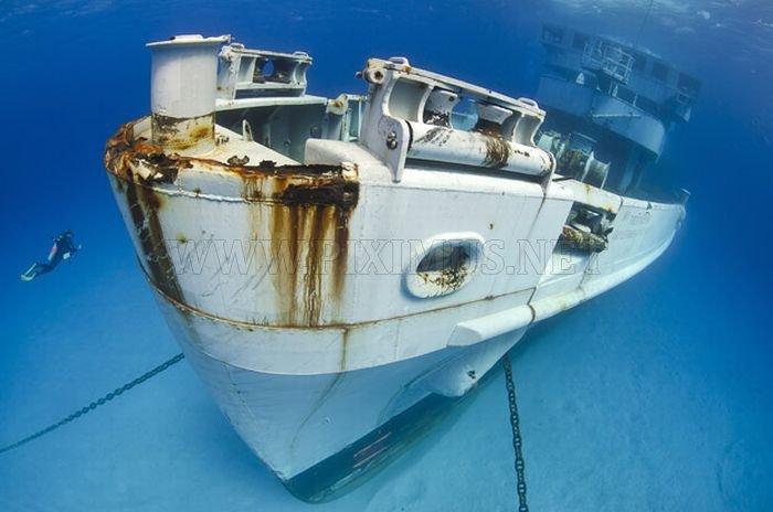Ship Wrecks around the World