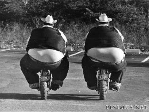 Big Boys on Bikes