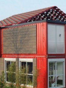 House Built with Containers