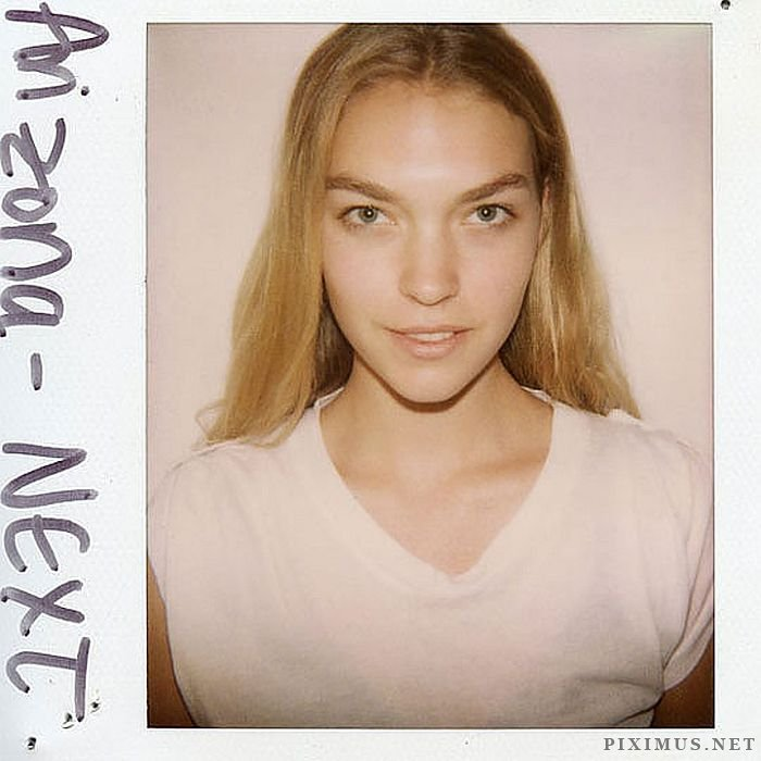 Supermodels with No Make-Up