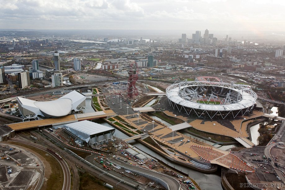 Olympic constructions, London 2012, part 2012
