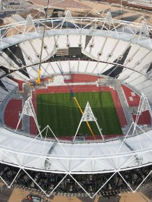Olympic constructions, London 2012