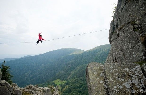 BMW Mountain View >> Extreme sport - Slackline | Others