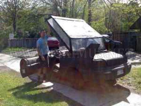 Batmobile from the Scrap