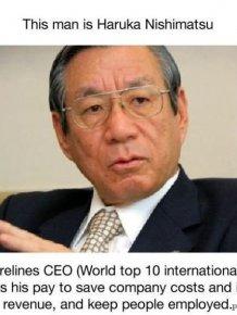 Haruka Nishimatsu, World's Most Austere CEO