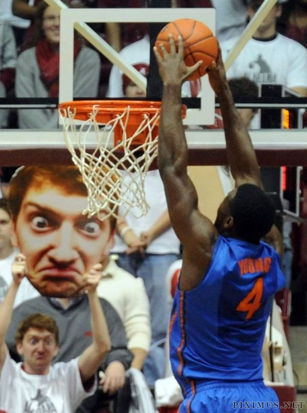 Getting Basketball Players Distracted