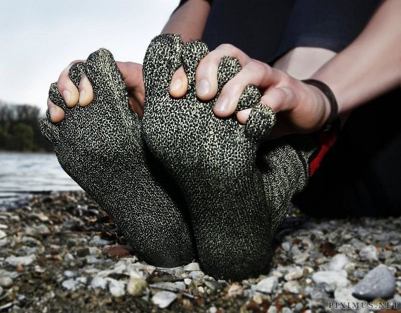 Funny Looking Sock Shoes for the Adventurous